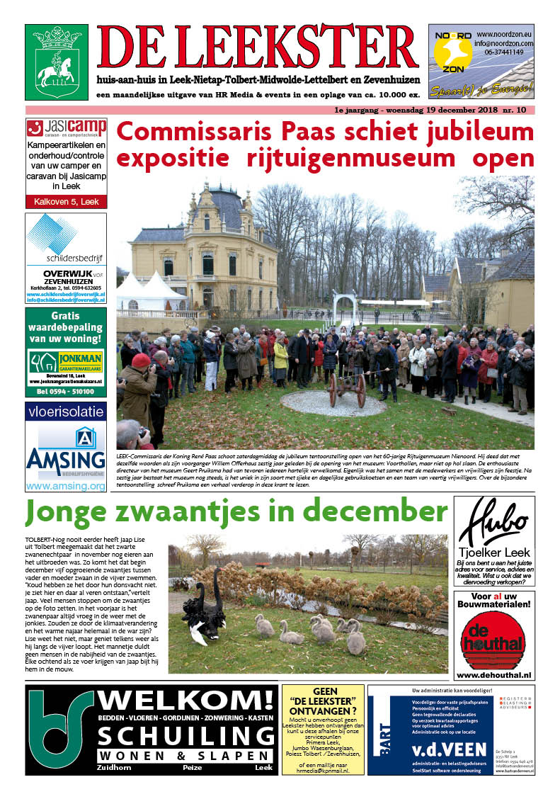 HRMedia & events - De Leekster december 2018