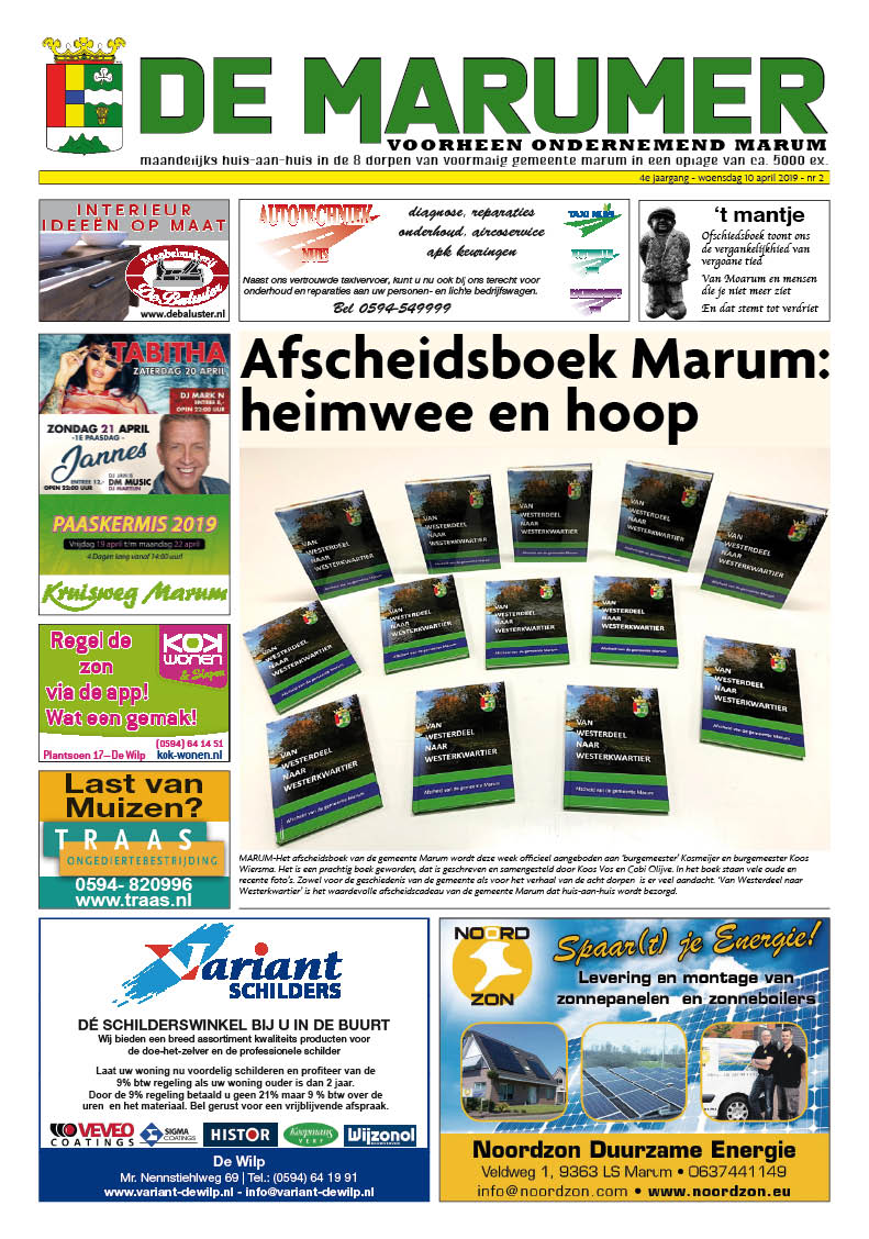 HRMedia & events - De Marumer april 2019