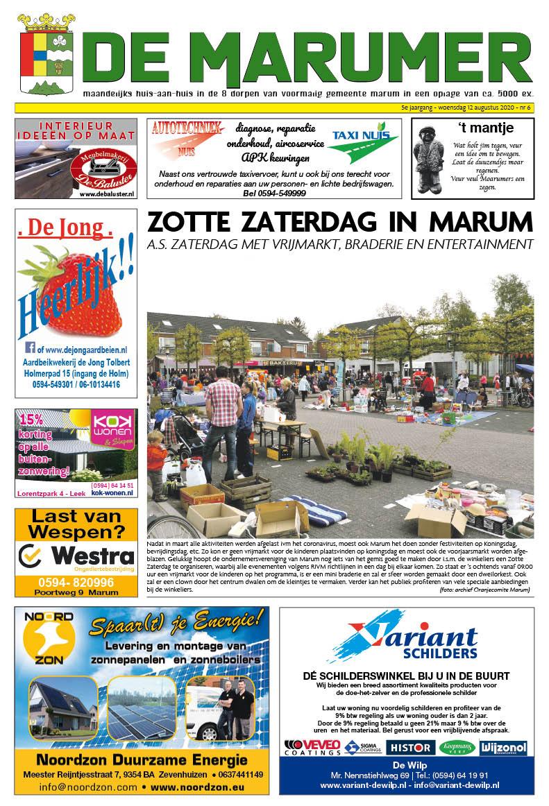 HRMedia & events - De Marumer augustus 2020