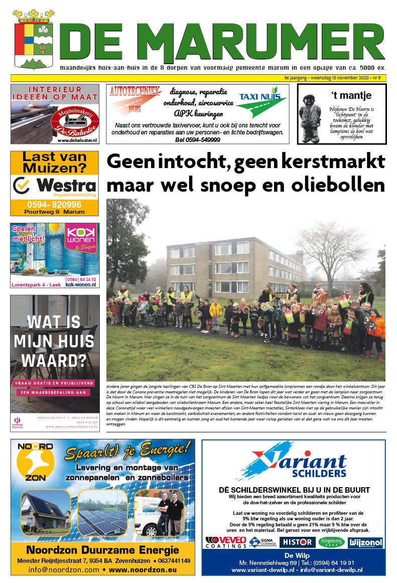 HRMedia & events - De Marumer november 2020