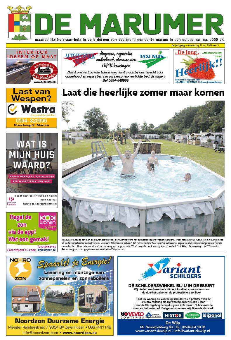 HRMedia & events - De Marumer juli 2021